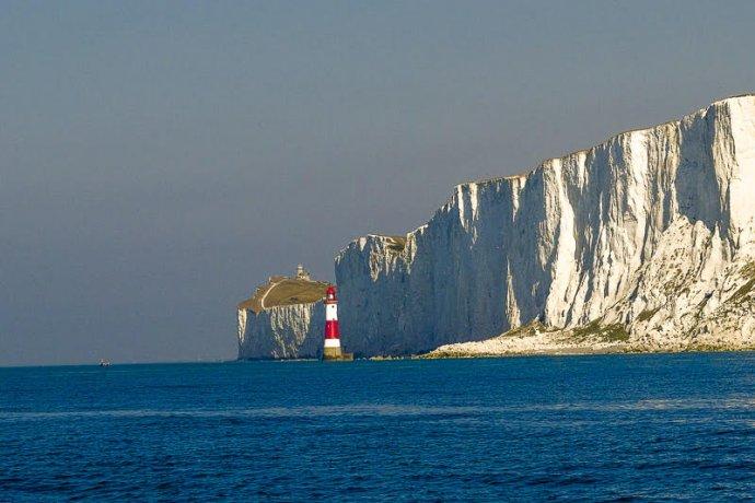 De prachtige kliffen bij Beachy Head